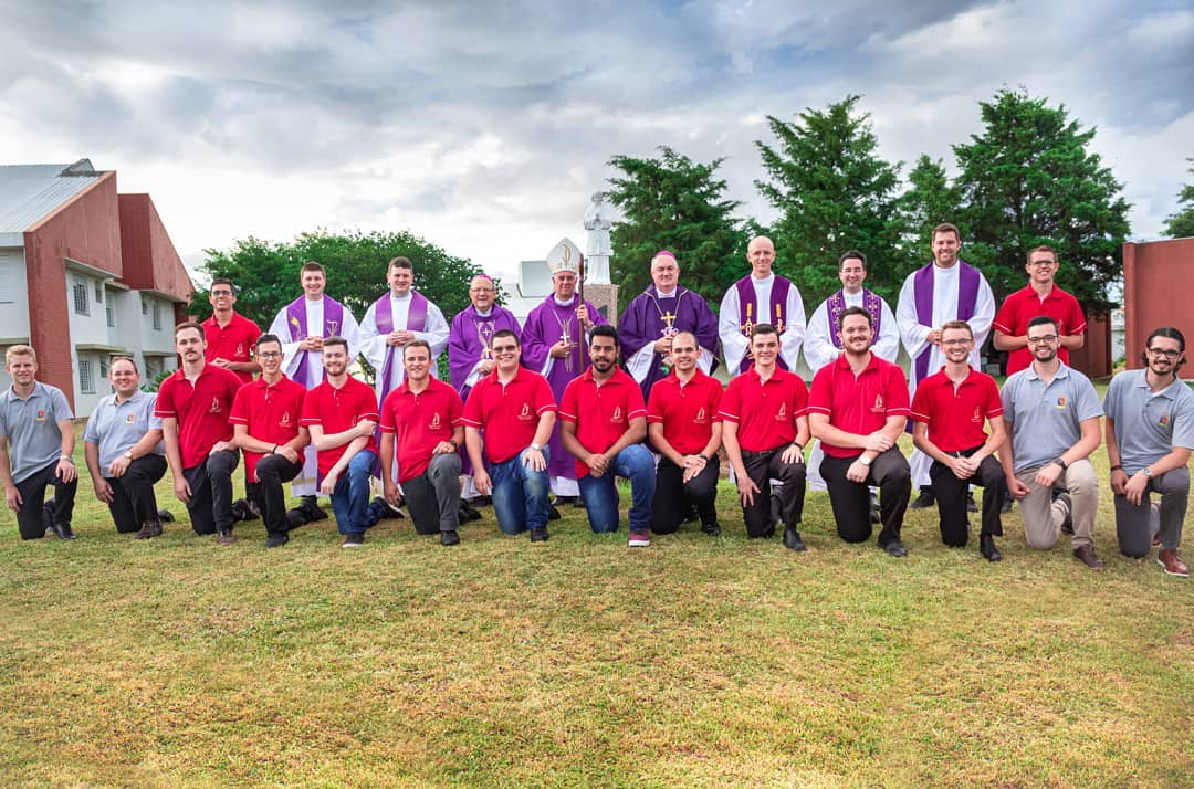 Seminaristas do Seminário Maior de Viamão