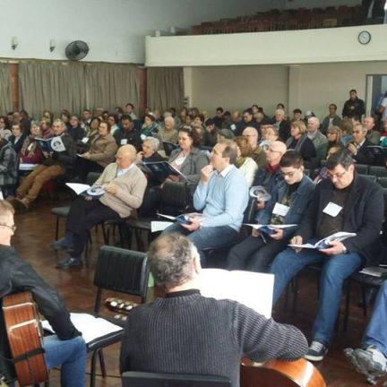 46° Ensaio de Cantos Litúrgico Pastoral Regional reúne participantes de diversas dioceses gaúchas