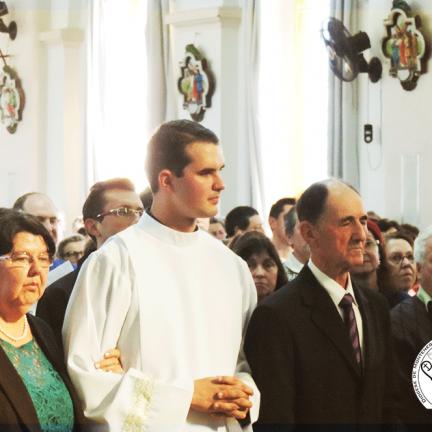 Ordenação Diaconal José Augusto Schneider