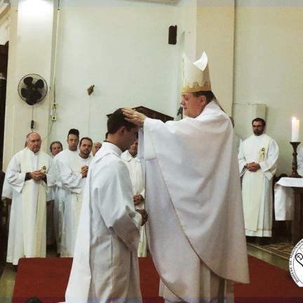 José Augusto Schneider agora é diácono da Diocese da Alegria