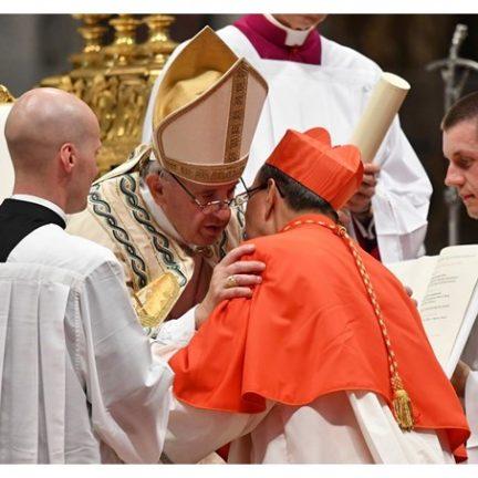 Papa a novos cardeais: Jesus não os chamou para ser príncipes na Igreja