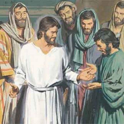 """""""Oito dias depois, encontravam-se os discípulos novamente reunidos em casa"""" (Jo 20,26)"""