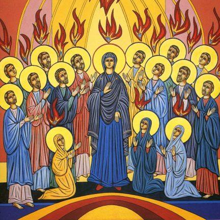 """Soprou sobre eles e disse: 'Recebei o Espírito Santo'"" (Jo 20,22)"