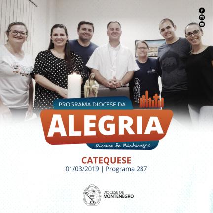 Programa Diocese da Alegria 287: Catequese