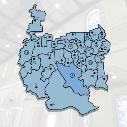 Diocese: Coordenações de paróquias e comunidades se reúnem por áreas pastorais