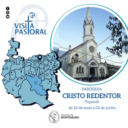 Visita Pastoral: Paróquia Cristo Redentor de Tupandi