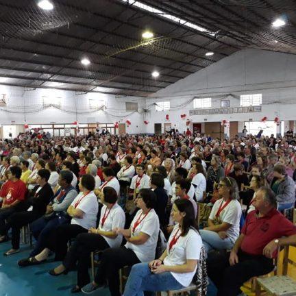 Teutônia: Encontro Diocesano do Apostolado da Oração reúne aproximadamente mil fieis