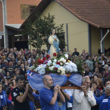 Taquari: Romaria da Assunção reúne 30 mil fiéis