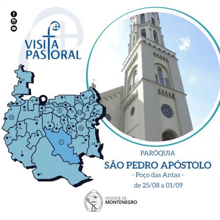 Visita Pastoral: Poço das Antas