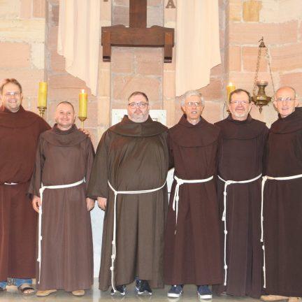 Franciscanos: Eleito Novo Governo Provincial