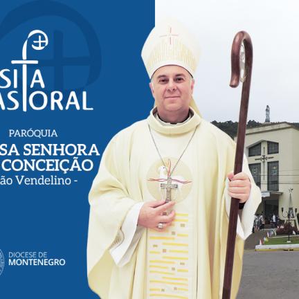 São Vendelino: Dom Carlos inicia Visita Pastoral na Paróquia Nª Sª da Conceição