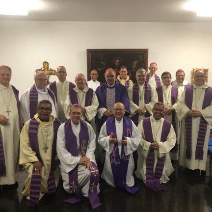 Nova Friburgo: Dom Paulo participa de reunião do Conselho Episcopal do Regional Leste 1