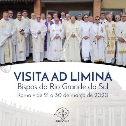 RS: Visita Ad Limina Apostolorum do Regional Sul 3 é suspensa