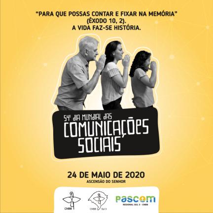 Live | 54º Dia Mundial das Comunicações Sociais