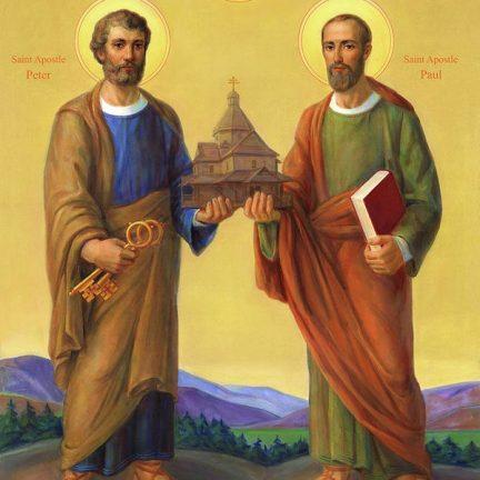 Artigo: Pedro e Paulo, colunas da Igreja