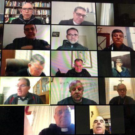 RS: Bispos do Regional Sul 3 se encontram em reunião virtual