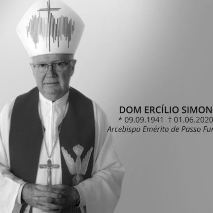 Arquidiocese de Passo Fundo: Faleceu Dom Ercílio Simon, arcebispo emérito
