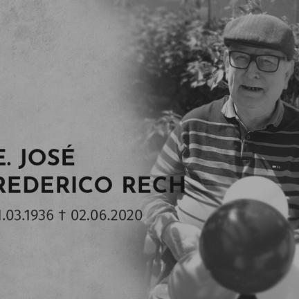 Nota de Falecimento: Morre Pe. José Frederico Rech aos 84 anos