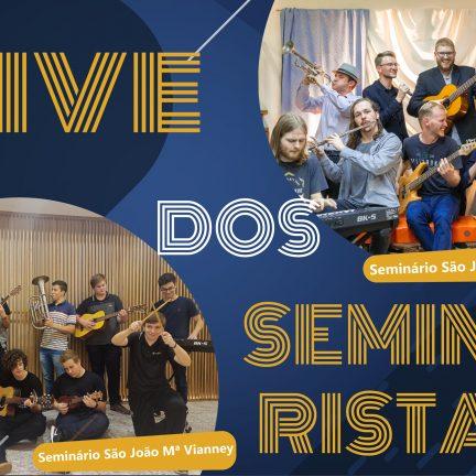 Seminários:  Seminaristas promovem live no próximo dia 23 de outubro