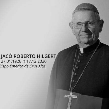 Cruz Alta: Faleceu Dom Jacó Hilgert, bispo emérito