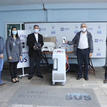 Montenegro: Diocese faz doação de equipamentos para o Hospital