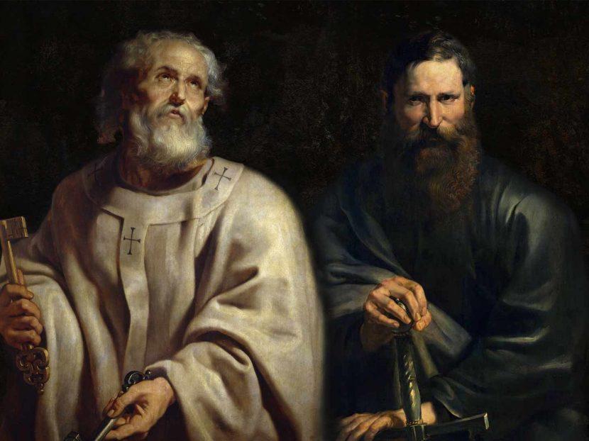 """Dom Carlos: """"Amemos a fé, a vida, os trabalhos, os sofrimentos, os testemunhos e as pregações destes dois apóstolos"""" (Santo Agostinho)."""