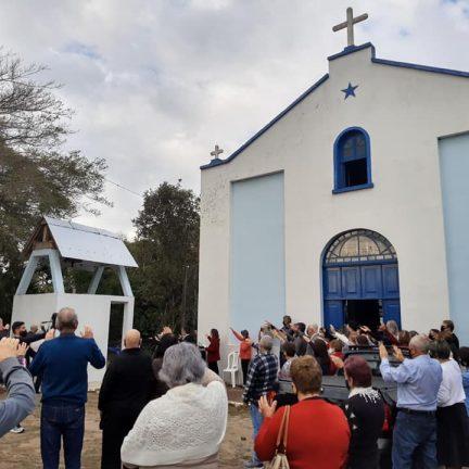Bom Retiro do Sul: Sino da Igreja do Morro volta a badalar